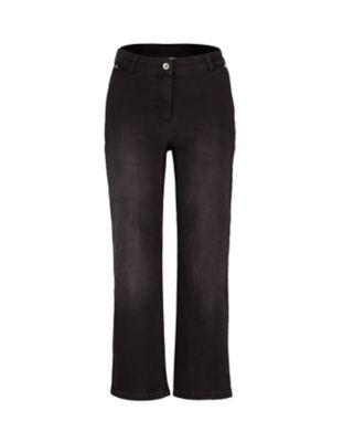 Deerberg 7/8-Jeans Waike schwarz
