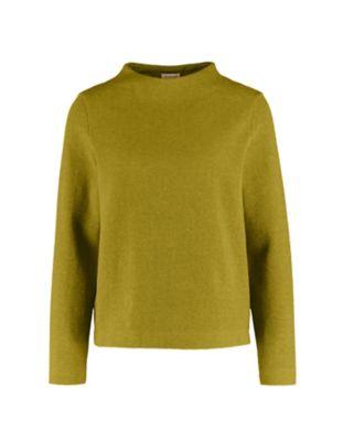 Deerberg Jacquardjersey-Shirt Verone avocadodip-melange