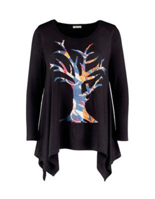 Deerberg Jersey-Shirt Broiny schwarz