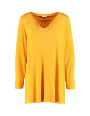 Deerberg Jersey-Shirt Marketa dunkelmais