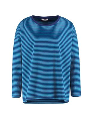 Deerberg Jersey-Shirt Lorelies dunkelblau-pazifikblau