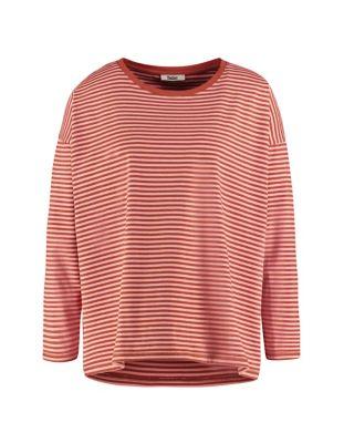Deerberg Jersey-Shirt Lorelies tonerde-antikrosa