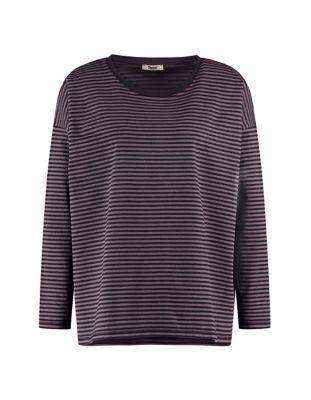 Deerberg Jersey-Shirt Lorelies schwarz-asphalt