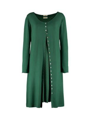 Deerberg Jersey-Doppelkleid Hendrina zederngrün
