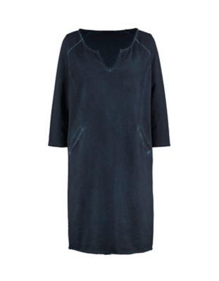 Deerberg Sweat-Kleid Lintrud marine-washed