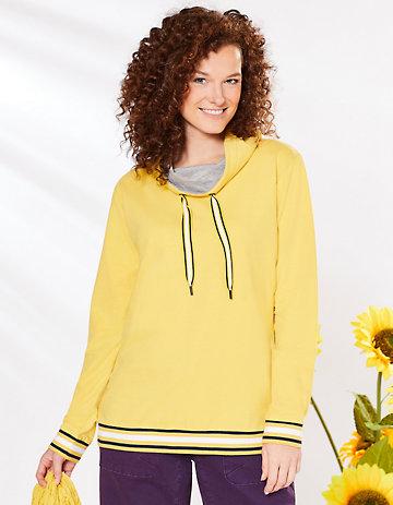 Deerberg Sweatshirt Philippine gelb