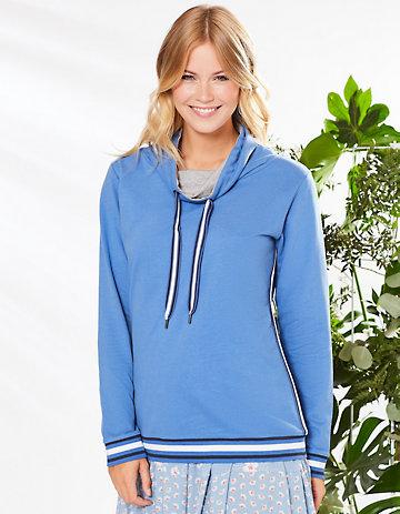 Deerberg Sweatshirt Philippine flaggenblau