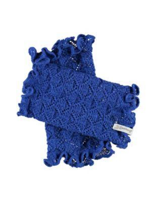 Deerberg Ajourstrick-Armstulpen Heti dunkelblau