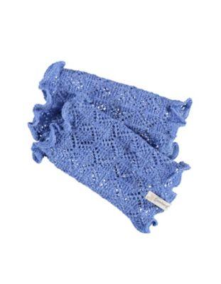 Deerberg Ajourstrick-Armstulpen Heti flaggenblau
