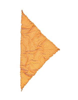 Deerberg Ajourstrick-Dreiecktuch Amrit herbstgold