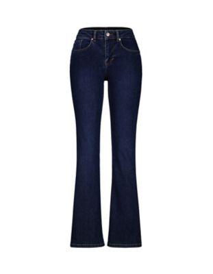 Deerberg Bootcut-Jeans Dena Bio dark-denim