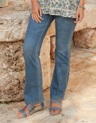 Deerberg Bootcut-Jeans Dena Bio blue-used