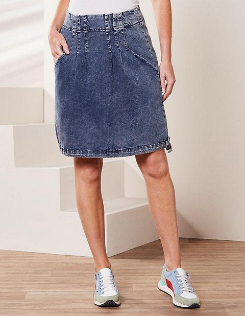 Deerberg Jeans-Rock Heddi