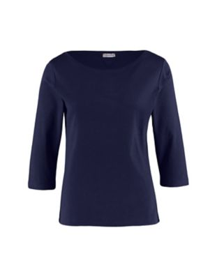 Deerberg Jersey-Shirt Geske marine