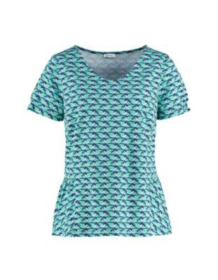 Deerberg Jersey-Shirt Sary jadegrün