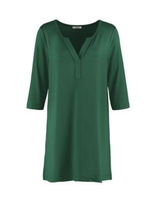 Deerberg Jersey-Tunika Nasra zederngrün