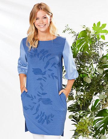 Deerberg Tunika Alfredina blau