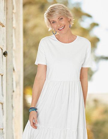 Deerberg Kleid Julianna weiß
