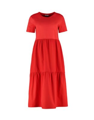 Deerberg Kleid Julianna mittelrot