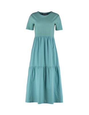 Deerberg Kleid Julianna kupfergrün