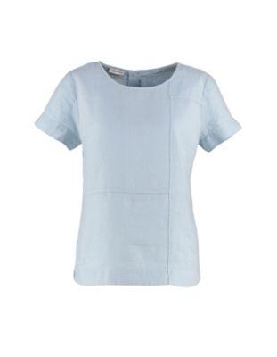 Deerberg Leinen-Bluse Gerri blassblau