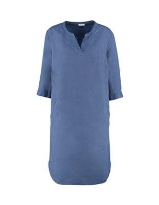 Deerberg Leinen-Kleid Gudrid indigo