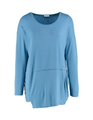 Deerberg Shirt Mohana balticblau