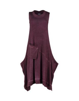 Deerberg Jersey-Kleid Amira aubergine