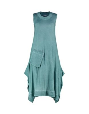 Deerberg Jersey-Kleid Amira kupfergrün