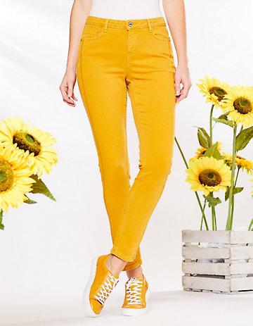 Deerberg Slim-Fit-Jeans Vivo mango-washed