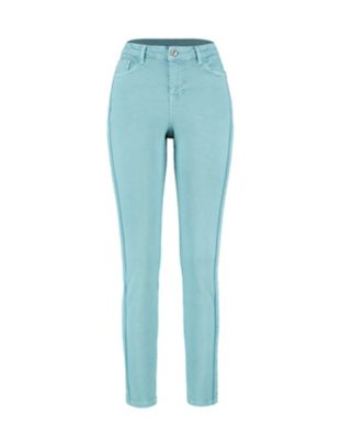 Deerberg Slim-Fit-Jeans Vivo topasblau-washed