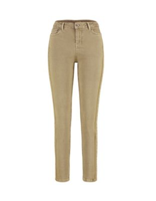 Deerberg Slim-Fit-Jeans Vivo olivgrün-washed