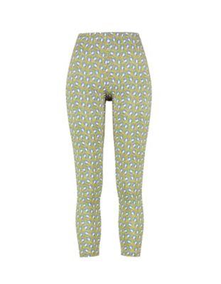 Deerberg Jersey-Leggings Malwine avocadogrün