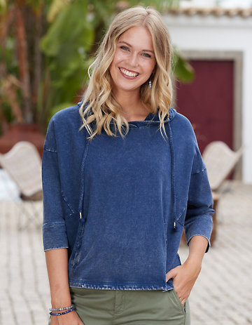 Deerberg Sweat-Shirt Lamberta indigo