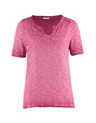 Deerberg Jersey-Shirt Florianne nelkenrot