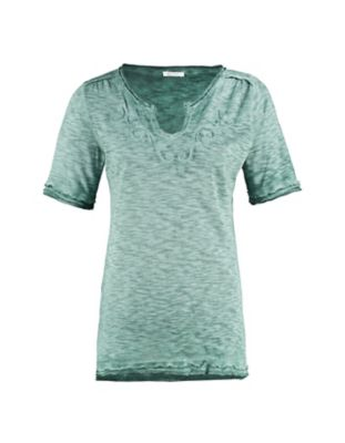 Deerberg Jersey-Shirt Florianne algengrün