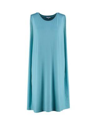 Deerberg Jersey-Kleid Rebella topasblau