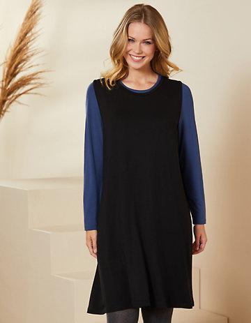 Deerberg Jersey-Kleid Rebella schwarz