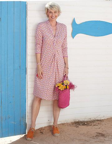 Deerberg Jersey-Kleid Isabe pastellviolett