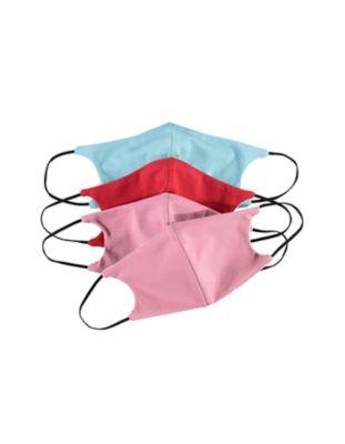 mit Nasenbügel Jersey 4er Pack Nase-Mund-Maske bunt