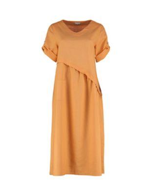 Deerberg Leinen-Kleid Rabna mango