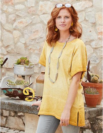 Deerberg Jersey-Shirt Perwin dunkelmango