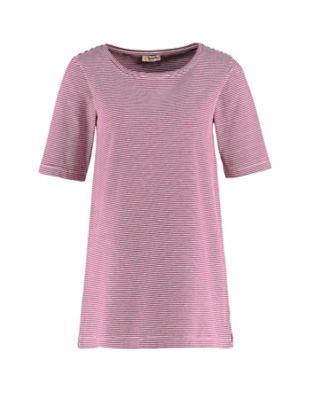 Deerberg Jersey-Shirt Erwine aster-cremeweiß