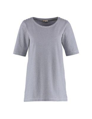 Deerberg Jersey-Shirt Erwine marine-cremeweiß