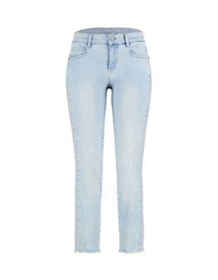 Deerberg Slim-Fit-Jeans Vicki light-washed