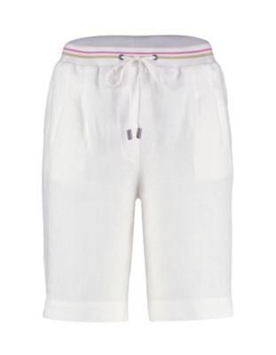 Deerberg Leinen-Bermuda Pemba weiß
