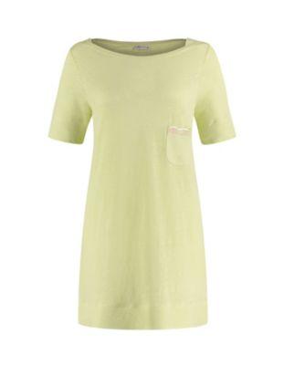 Deerberg Leinenjersey-Shirt Nastasja frühlingsgrün