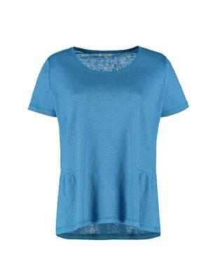 Deerberg Leinenjersey-Shirt Darnelle eisvogelblau
