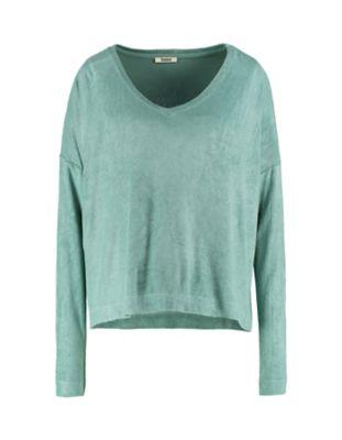 Deerberg Nicki-Sweatshirt Lisanna kupfergrün
