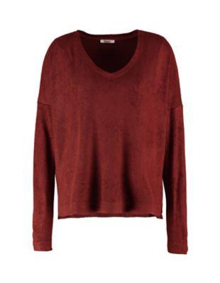 Deerberg Nicki-Sweatshirt Lisanna ziegelrot